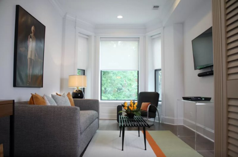 Furnished 1-Bedroom Apartment at N Orchard St & W Briar Pl Chicago - Image 1 - Chicago - rentals