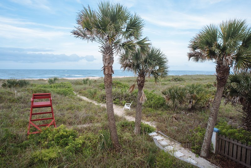 Steps to the Ocean - Open for Biz- no storm damage - Saint Augustine - rentals