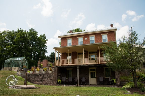 4BR 19th-century brick farmhouse with scenic view - Image 1 - Hershey - rentals