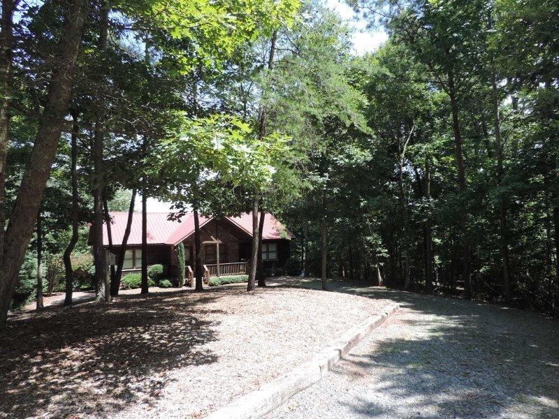 Pet friendly vacation cabin in the Coosawattee River Resort. - Image 1 - Ellijay - rentals