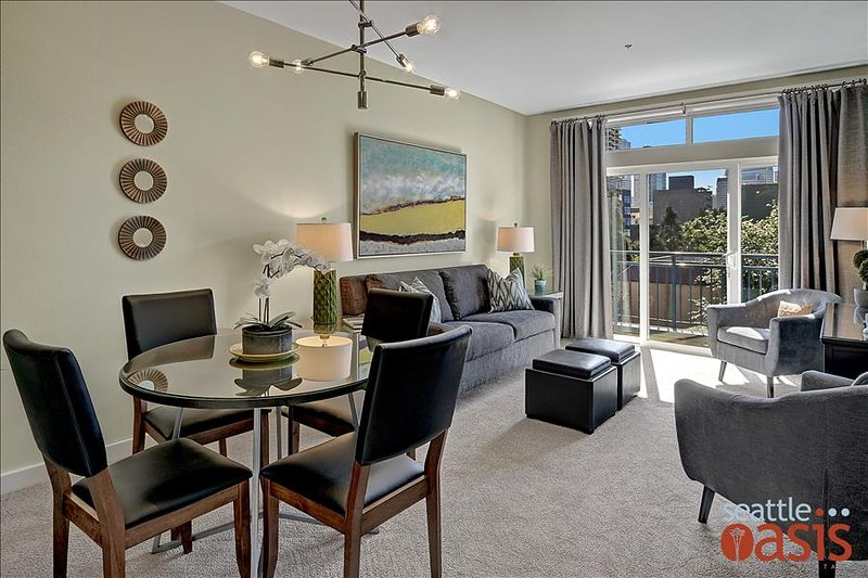 1 Bedroom Sophisticated Urban View Oasis - Image 1 - Seattle - rentals