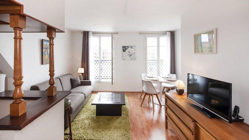 One bedroom Terrasse  Paris Montparnasse district (474) - Image 1 - Paris - rentals