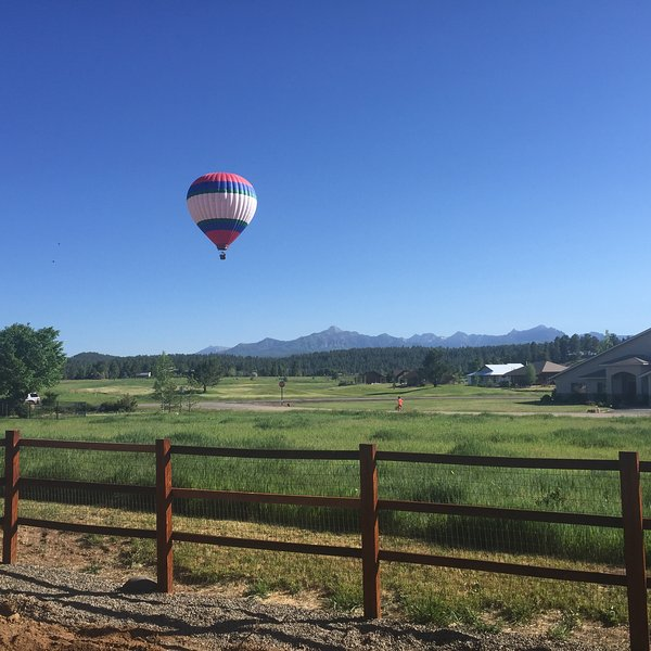 Summer View from back of home and deck - Stunning Pagosa Peak View Fireplaces HOT TUB VIEWS - Pagosa Springs - rentals