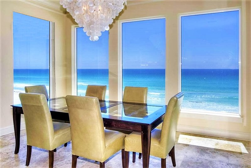 Second Floor Dining Area with Breathtaking Panoramic Views - 20% OFF MARCH: BEACH FRONT, Elevator, Pool! - Destin - rentals