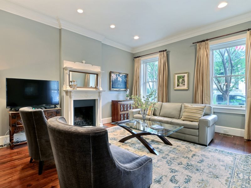 Beautiful House Right in the Heart of Downtown with Off-Street Parking - Image 1 - Savannah - rentals