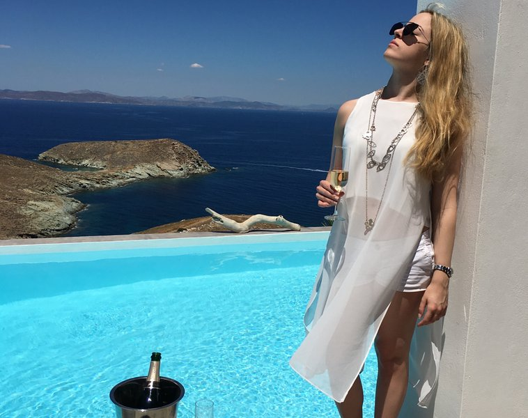 pure pleasure.. - Villa Meli - Otzias - rentals