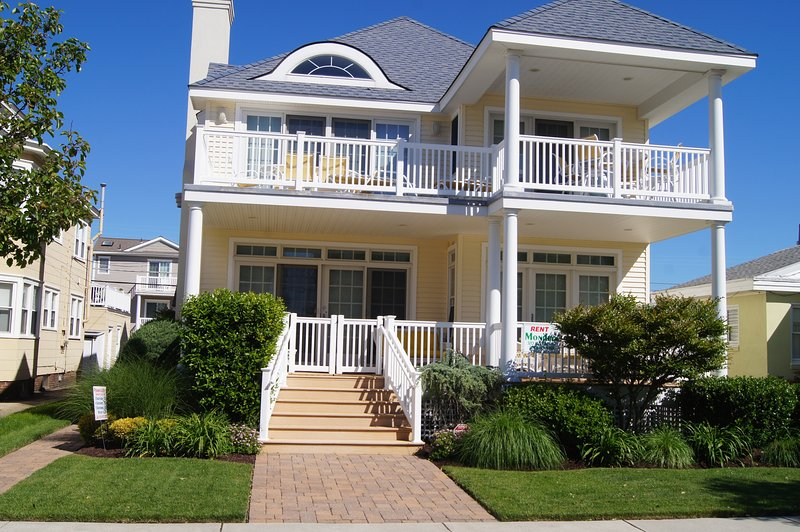 Front View  - Beauty and the Beach - Ocean City - rentals