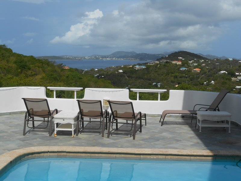 Pool View - Pool Side 2BR with Sunset View - Cruz Bay - rentals