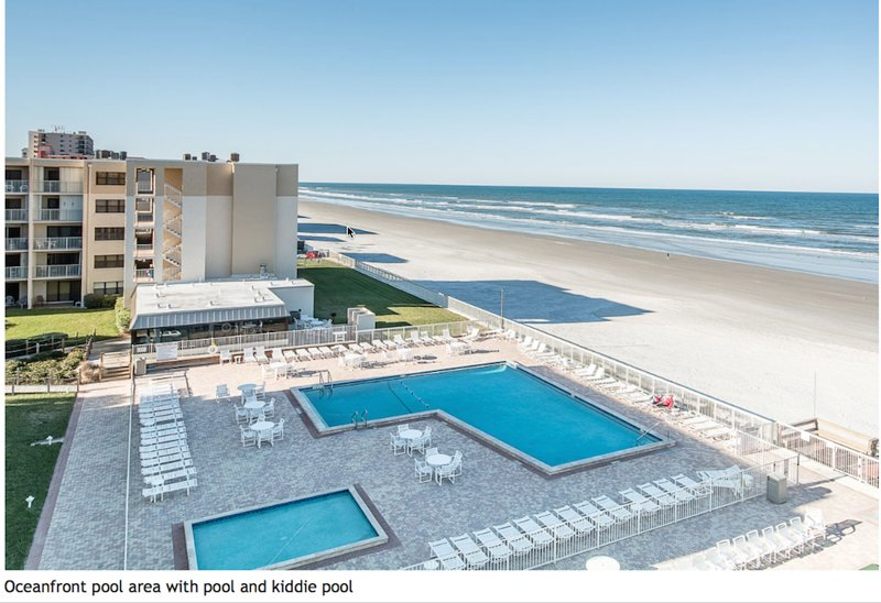 Beach Front Condo New Smyrna Beach Florida - Image 1 - New Smyrna Beach - rentals