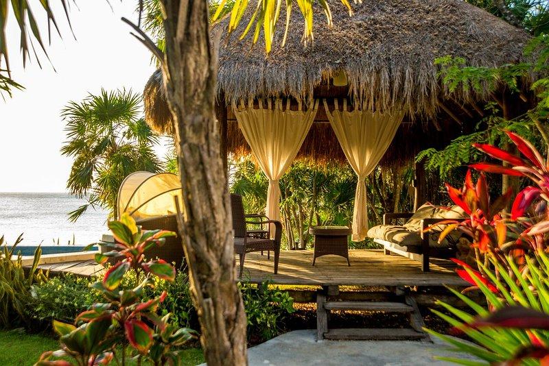 Villa Eden - private oceanfront retreat in Cozumel - Image 1 - Cozumel - rentals