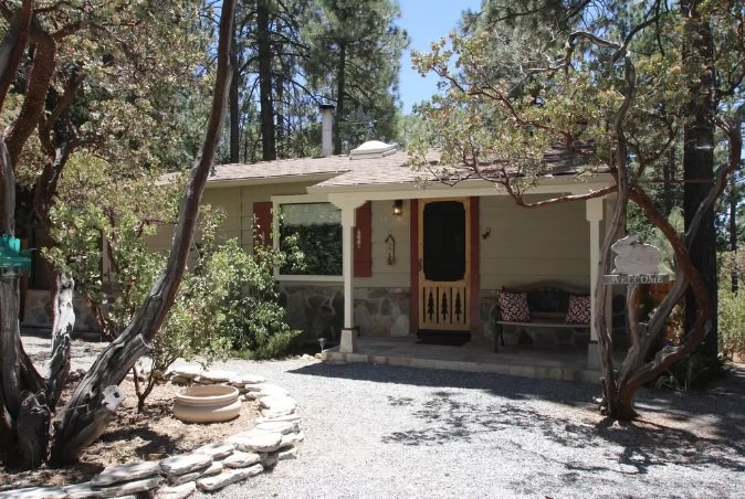 Front of Home - Manzanita Retreat - Idyllwild - rentals