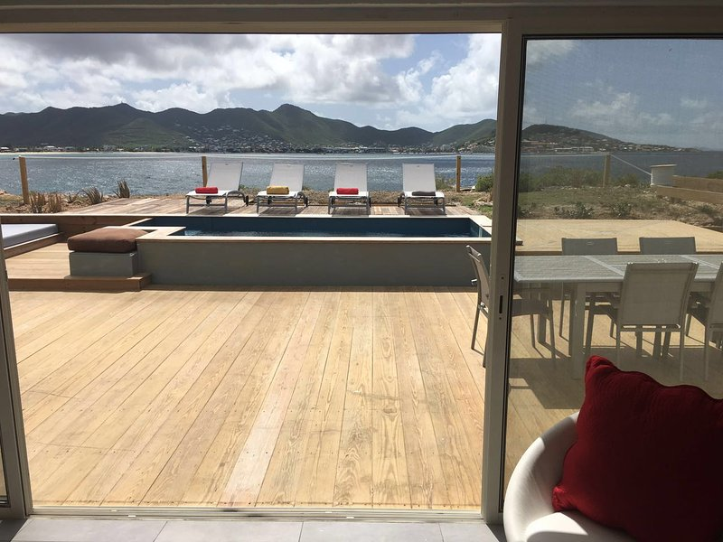 Cliff House... 2BR vacation rental in Beacon Hill, St Maarten 800 480 8555 - CLIFF HOUSE...2BR cliffside in Beacon Hill, St Maarten - Beacon Hill - rentals