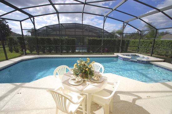Beautiful 5 Bedroom 3 Bath Pool Home with Games Room. 1411SCD - Image 1 - Orlando - rentals