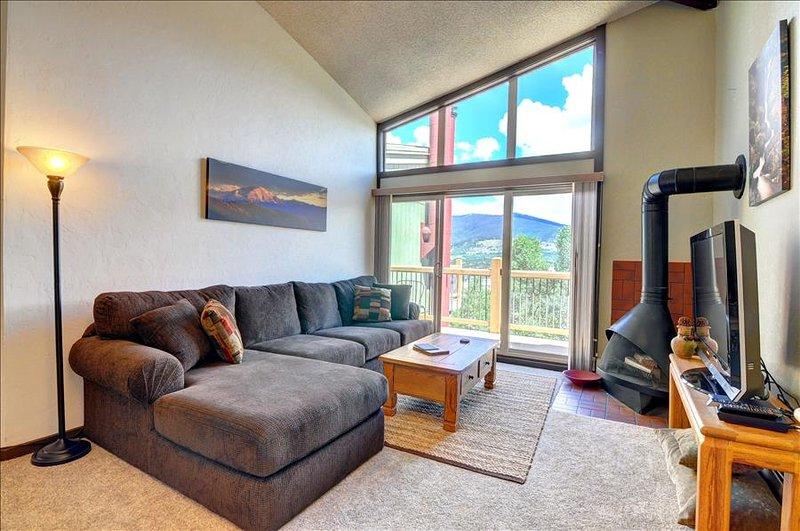 NEW LISTING!  SILVER QUEEN: 2 bed/2 bath+Sleeping Loft, Deck, Carport, Cont. Divide View, Sleeps 6 - Image 1 - Silverthorne - rentals