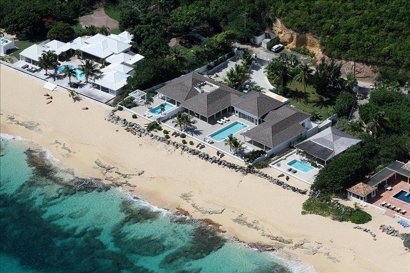 5 bedroom beachfront estate on Baie Rouge - Image 1 - Terres Basses - rentals