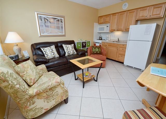 View from the entrance - Tropic Breezes #14- Second Floor, Gulf View Condo with Pool and BBQ Area! - Madeira Beach - rentals