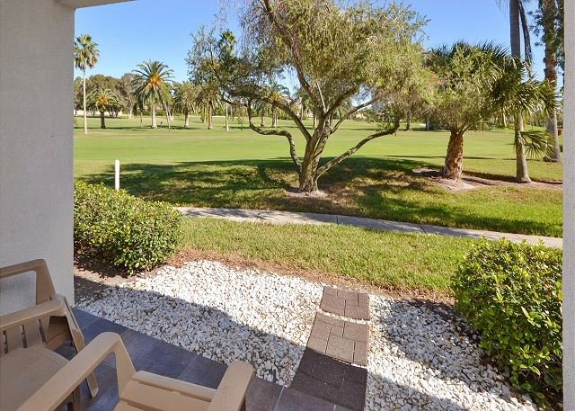 Golf Course View from the Patio - Vista Verde East 5-137 Must See - Amazing Updates in this Ground Floor Condo! - Saint Petersburg - rentals