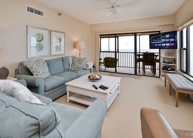 Comfort and style with views  - Arie Dam 503- Premium Top Floor, Corner Condo on the Gulf with Pool and Spa! - Madeira Beach - rentals
