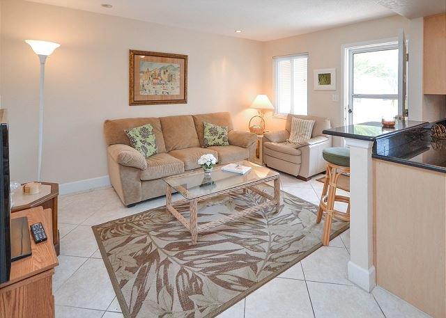 Waves 17 - 2nd Floor One Bedroom - Pool, BBQ, WiFi, W/D - Walk to the Beach! - Image 1 - Saint Pete Beach - rentals