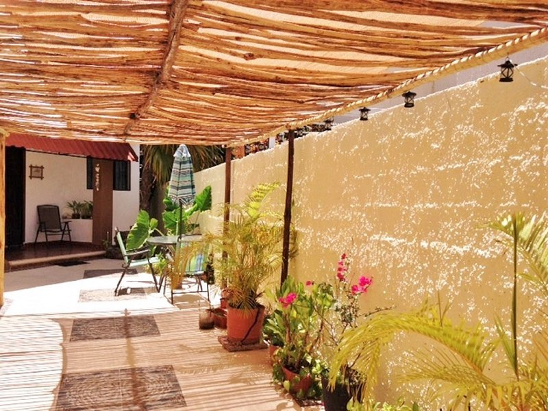 Front patio - Los Caracoles B&B -  Affordable, nice and cozy - Cancun - rentals