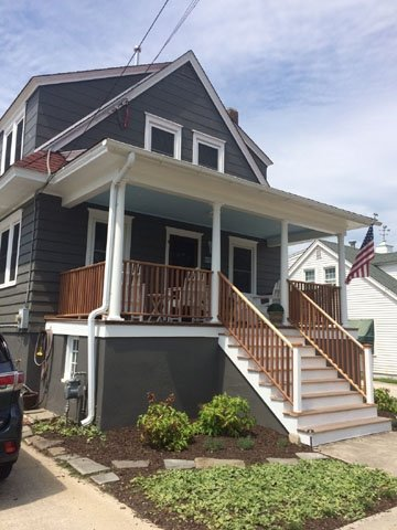 Large Home Beach Block 130243 - Image 1 - Cape May - rentals