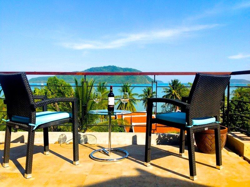 Eva Villa - Sea View Private Pool in 3 bedroom villa in Rawai - Image 1 - Rawai - rentals