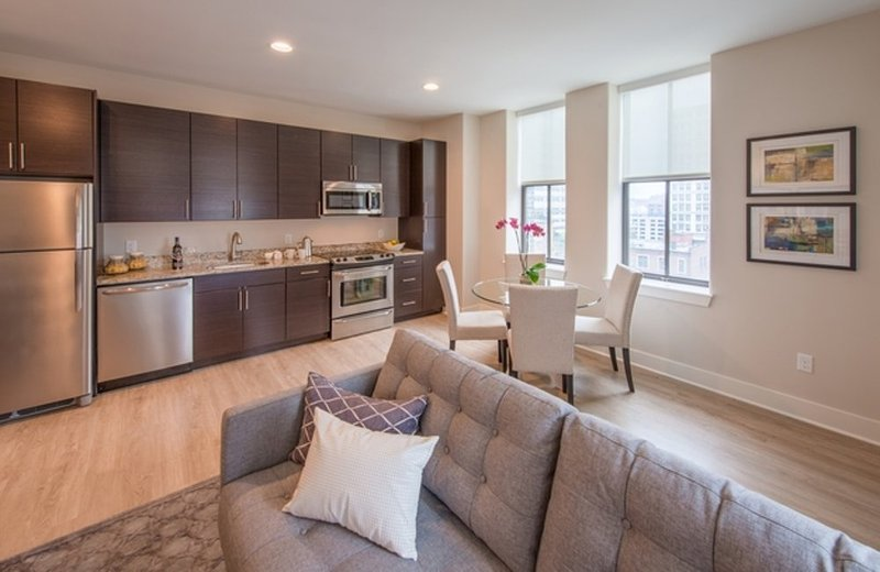 Furnished 1-Bedroom Apartment at Light St & E Redwood St Baltimore - Image 1 - Baltimore - rentals