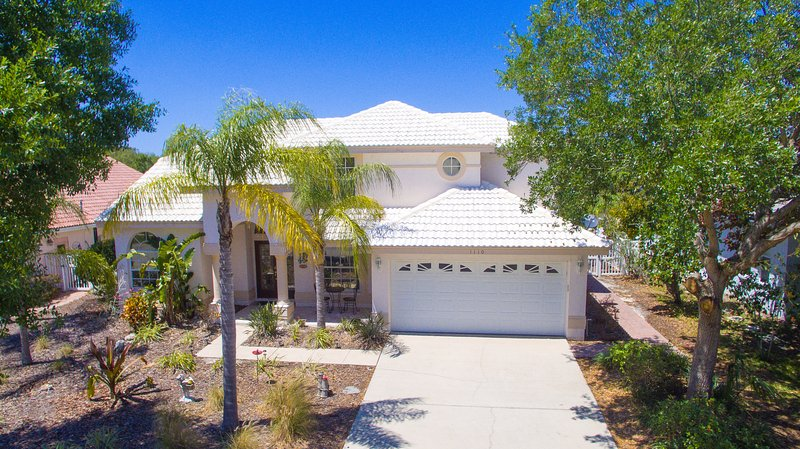 House Front - Tropical Island Retreat-Private Waterfront - Tarpon Springs - rentals