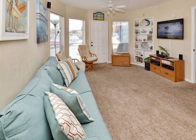Sleeper Sofa - Sea Rocket #29 - Ground Floor, Largest Floorplan One Bedroom Bath and a Half! - North Redington Beach - rentals