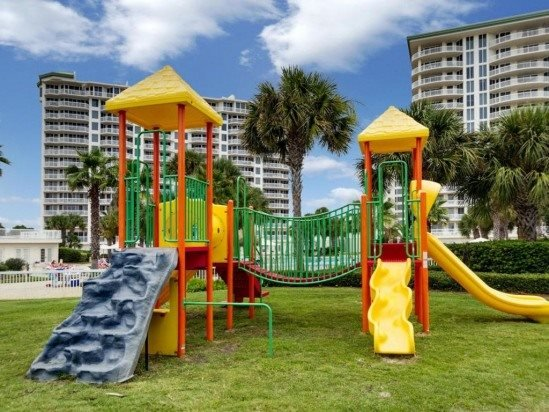 The Playground Located at Silver Shells Resort and Spa for Kids to Play On - Seascape 2201: GULF VIEWS, Pool, Steps to Beach! - Destin - rentals