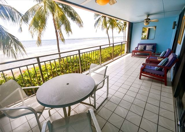 Private Balcony  - Beach Club #104 - Unique oceanfront living with breathtaking views - Key West - rentals