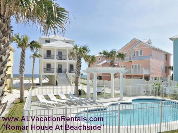 Romar House @ Beachside!  Gulf front w/prvt pool!! - Image 1 - Orange Beach - rentals