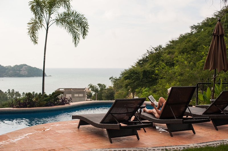 Sayulita Palapa Paradise-Ocean views, Private Heated Saltwater pool - Image 1 - Sayulita - rentals