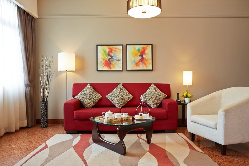 Living Room - Village Residence Robertson Quay 2-Bedroom Apt - Singapore - rentals
