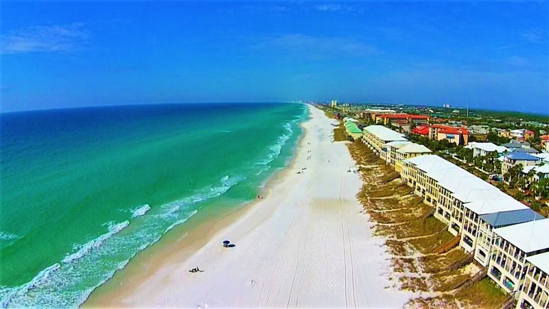 Frangista Pearl: Beach Front! Private Splash Pool - Image 1 - Miramar Beach - rentals