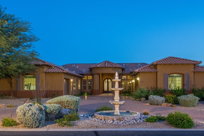 Front Elevation - Scottsdale Mansion - Scottsdale - rentals