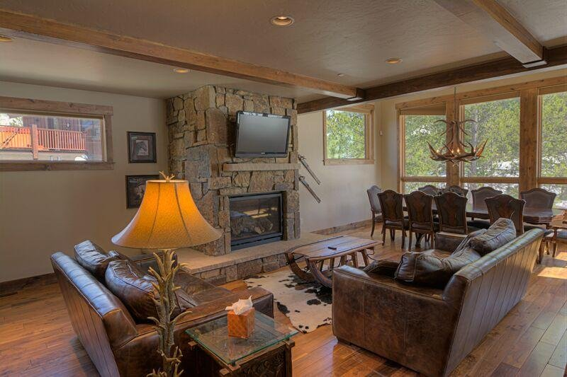 "SkyRun Property - ""LR962 The Timberline at Lewis Ranch"" - Living Room - LR962 The Timberline at Lewis Ranch - Copper Mountain - rentals"