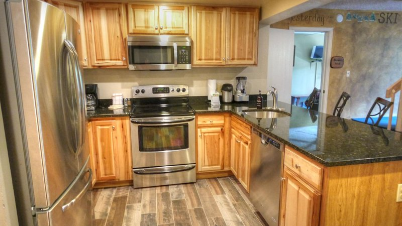 """SkyRun Property - """"CM416 Copper Mtn Inn"""" - Newly remodeled Kitchen - Newly remodeled Summer 2015 with stainless steel appliances - CM416 Copper Mtn Inn - Copper Mountain - rentals"""