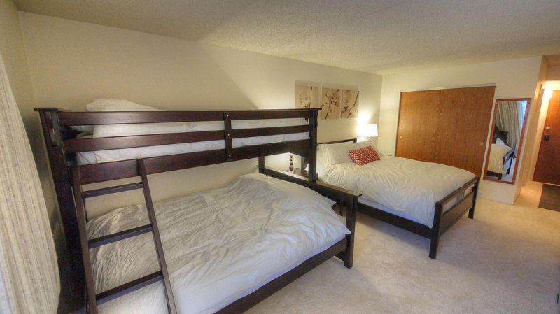 "SkyRun Property - ""BE308H"" - Queen Bed + Twin/Queen Bunk - BE308H - Copper Mountain - rentals"