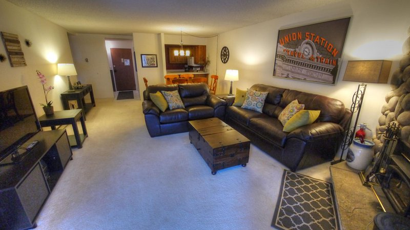 "SkyRun Property - ""BE308 Bridge End"" - Living Room - BE308 Bridge End - Copper Mountain - rentals"