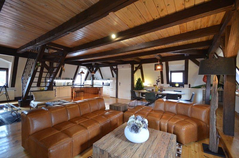 Attic Nerudova I - Iconic three bedroom apartment - Image 1 - Prague - rentals