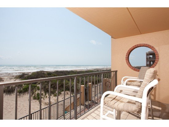 Large balcony and stunning views, enjoy morning coffee or an evening cocktail listening to the surf  - Stunning Beachfront Views - South Padre Island - rentals