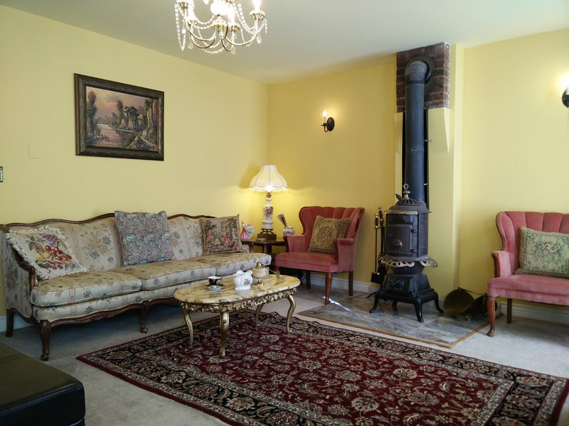 LIVING ROOM - HISTORIC HOME: VIEWS, ATTRACTIONS, SKIING, RAFTING - Central City - rentals