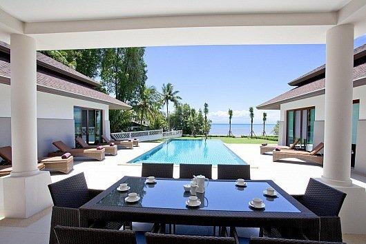 Spectacular beachfront 4 bed villa - Image 1 - Koh Chang - rentals