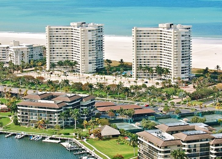 View of building - one on right - Marco Island Beachfront Breathtaking Gulf Views - Marco Island - rentals
