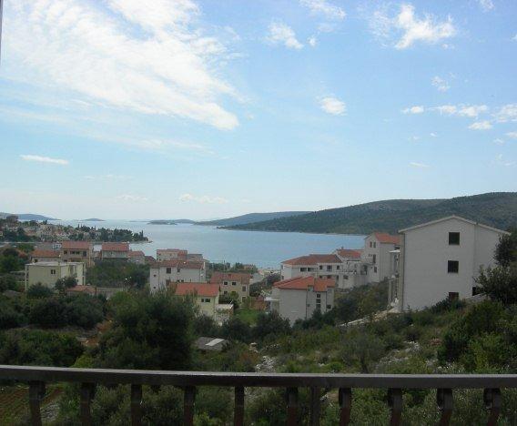 A2(2+2): balcony - 0107SEGV A2(2+2) - Seget Vranjica - Seget Vranjica - rentals