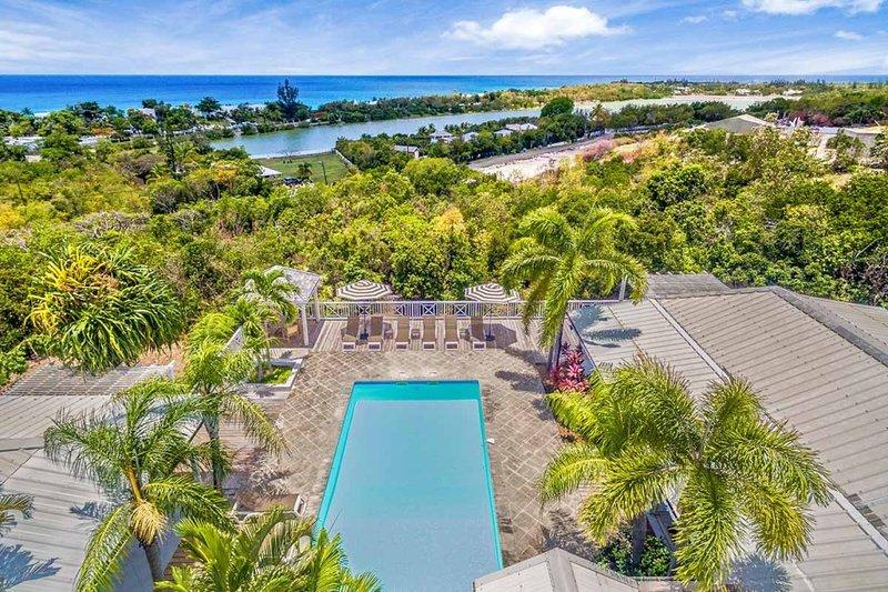 Jacaranda... 4BR vacation rental in Terres Basses, St. Martin 800 480 8555 - JACARANDA ...  affordable family villa with georgous views of Baie Longe! - Terres Basses - rentals