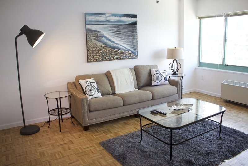 Furnished 1-Bedroom Apartment at River Dr S & River Ct Jersey City - Image 1 - Jersey City - rentals