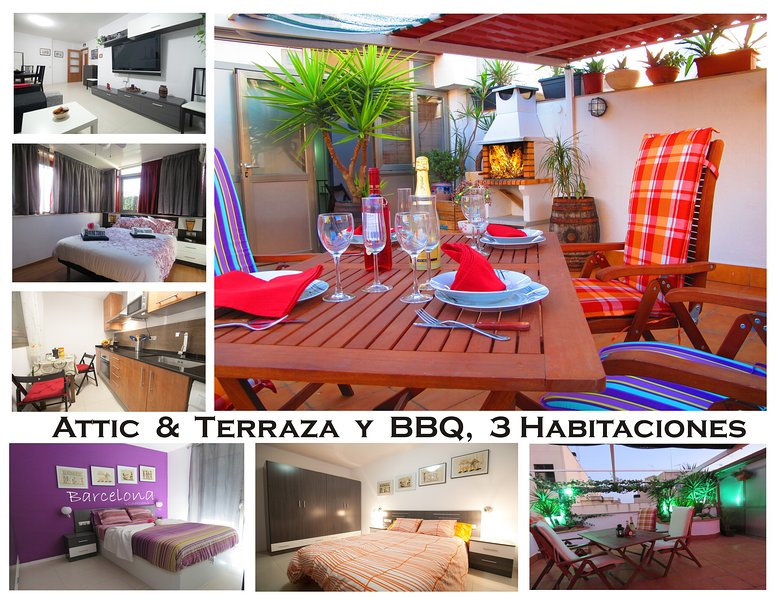 Good Stay Attic with Terrace  (R) - Image 1 - Viladecans - rentals