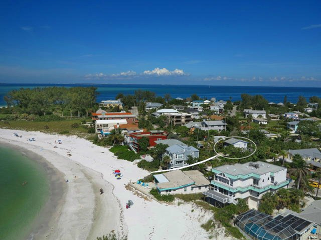 Literally only steps from the beach.  A small path provided access to the beach. - Close to Nicest Gulf Beach, Large Heated Pool - Anna Maria - rentals